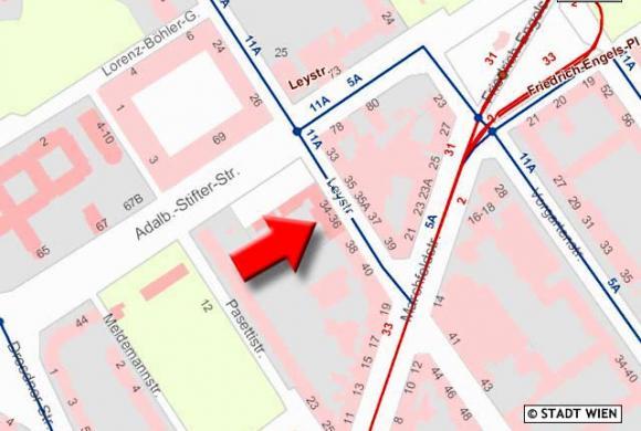 Lageplan VS Leystraße