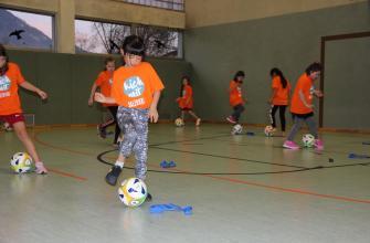Übung zur Ballführung