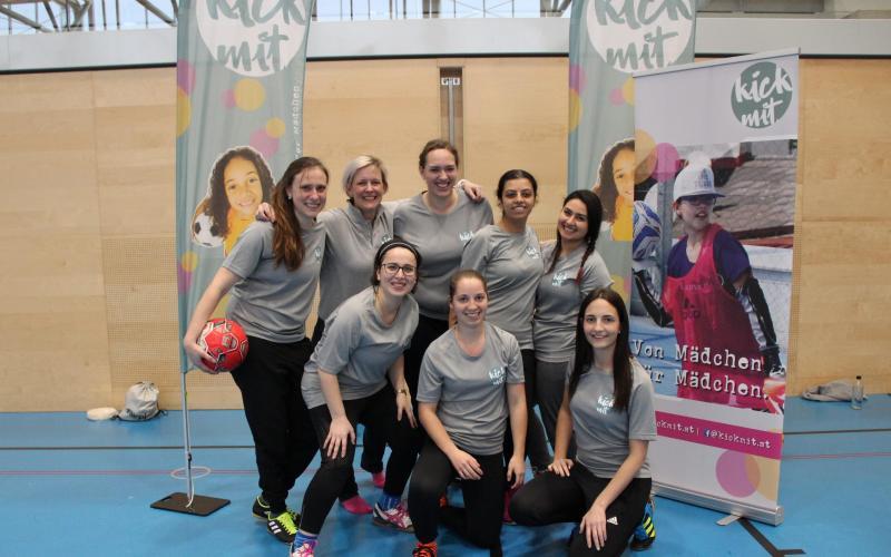 Gruppenbild der Übungsleiterinnen von Wien